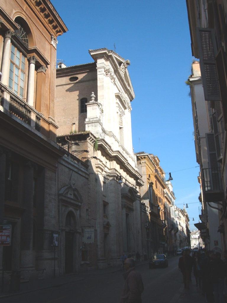 1.Photograph of San Giacomo degli Incurabili